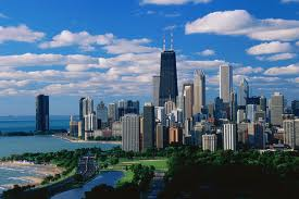 The lovely Chicago skyline
